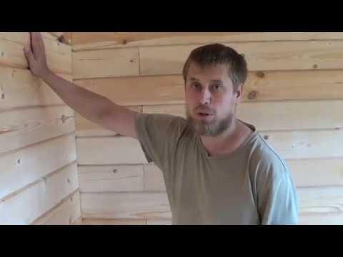 Видео обзора дома из бруса 6х9 Нижний Новгород  Пружинный узел  Фундамент ТИСЭ