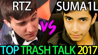 TOP TrashTalk 2017 Game Arteezy vs SumaiL 7.02 Dota 2