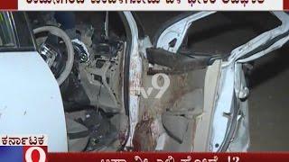 Lokayukta SP Ravikumar and Car driver death in accident near Ramanagara