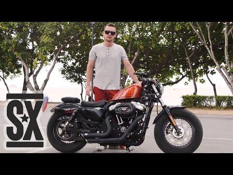 Обзор Harley Davidson Sportster Forty Eight