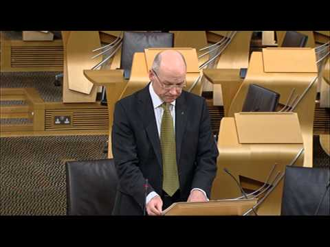 Afternoon Plenary - Scottish Parliament: 29th January 2015