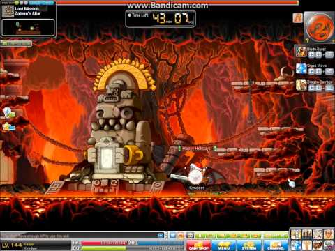 MapleStory Level 144 Kaiser Zakum Solo GMS