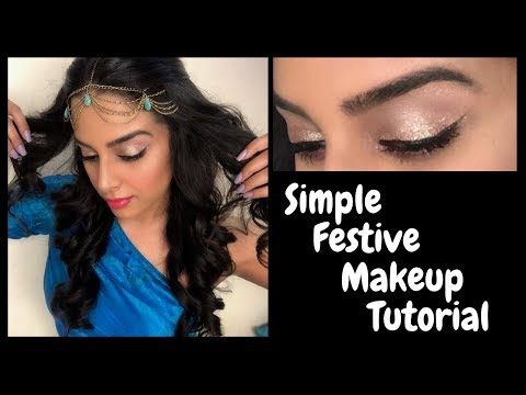 Simple Festive Makeup Tutorial | Sangya Lakhanpal