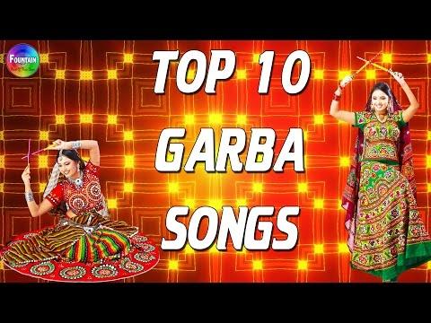 Top 10 Navratri Garba Gujarati Non stop - Fast Garba Songs   Gujarati Garba Songs 2016