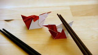 Origami - Canard Repose-baguettes