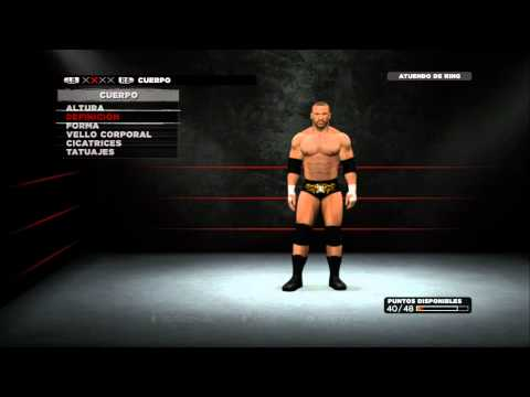 Triple H WWE13 CAW Formula