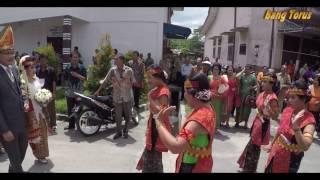 Budaya Indonesia - Manortor Menyambut Pengantin   Pesta Adat Pamasumasuon