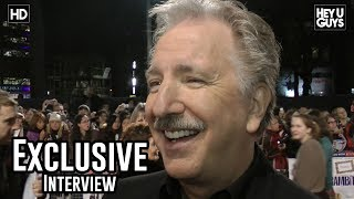 Alan Rickman Interview - Gambit UK Premiere