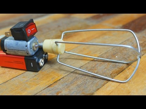 How to Make a Mini Mixer