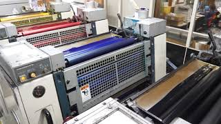 印刷機(KOMORI LITHRONE 26)