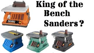 Best Bench Sander Roundup