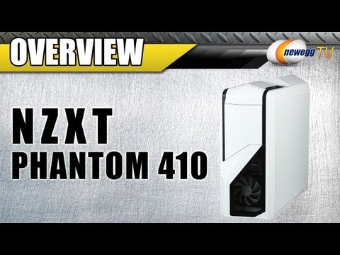 Newegg TV: NZXT Phantom 410 ATX Mid Tower Computer Case Overview