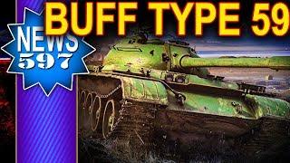 Buff dla Type 59 i innych premek - NEWS - World of Tanks