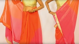 Beautiful Designer Saree Blouse Draping in 2 minutes
