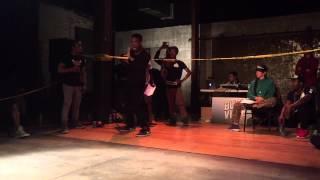 FIK-SHUN VS PROJECC (YOUNG MIJO) EXHIBITION BATTLE!! @ BUCKVILLE LA