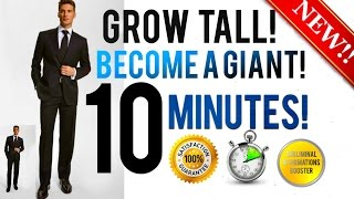 🎧 GROW TALLER BECOME A GIANT IN 10 MINUTES! - SUBLIMINAL AFFIRMATIONS BOOSTER - RESULTS FAST!