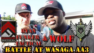 FUNKER Tactical and WOLF Fight AT ALIEN AGGRESION 3