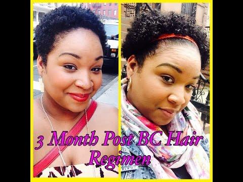 3 Month Post Big Chop Hair Regimen