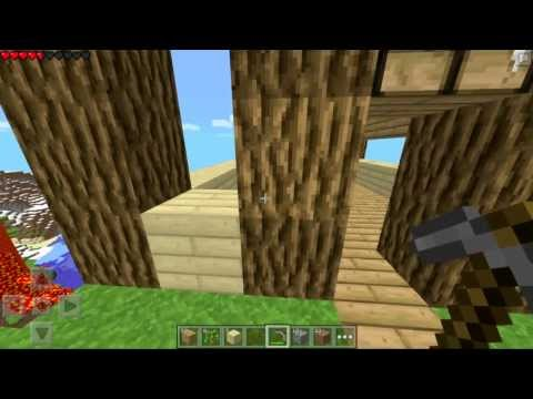 Minecraft PE Let's Play : Modded Survival Ep. 1 [Pocket Edition]
