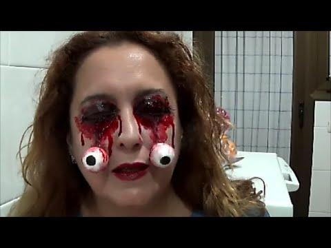 Eye makeup halloween