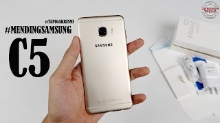 Unboxing Samsung Galaxy C5 Indonesia (Juragan Tekno)