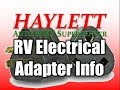 HaylettRV - 15, 30, and 50amp Electric Adapters with Josh the RV Nerd
