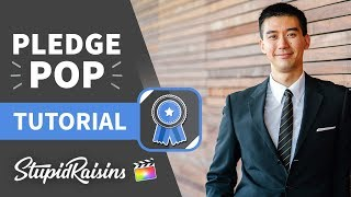 Pledge Pop FCPX Tutorial - 125 professionally-designed and animated guarantee-styled graphics.
