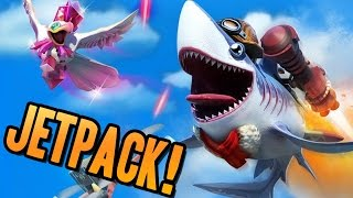 Hungry Shark World | HIDDEN SECRET AREAS & BRAND NEW JETPACK