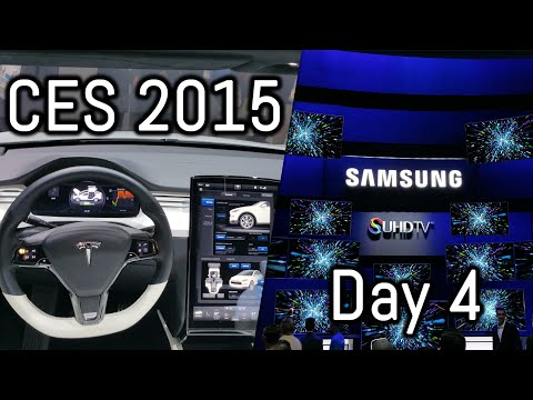 CES 2015 - Day 4 | Central Hall | Tech Overload!