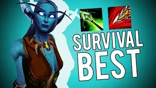 BFA Survival Is The BEST For Battlegrounds - World of Warcraft: Battle For Azeroth (BETA)