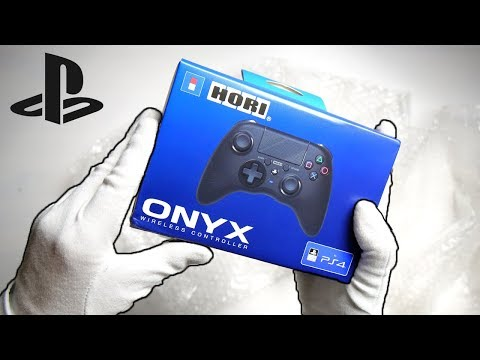 PS4's ANSWER TO XBOX ONE CONTROLLER! Unboxing Hori Onyx Pro / Slim Call of Duty WWII Gameplay