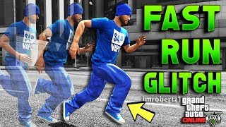 GTA 5 FAST RUN GLITCH! How to Run Super Fast Cheat Code GTA Online! Modded Run (GTA 5 Glitches)