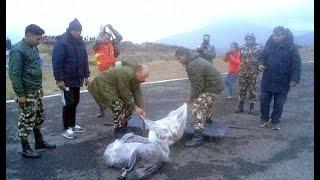कसरि भयो पर्यटन मन्त्री रवीन्द्र अधिकारीसहित ७ जना चढेको हेलिकप्टर दुर्घटना ? हेर्नुहोस्