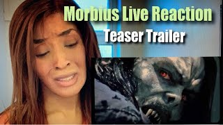 MORBIUS TRAILER REACTION!!