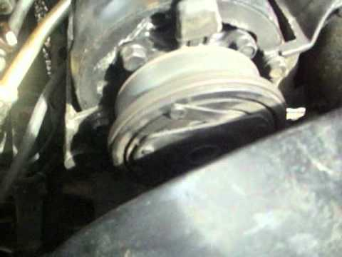 ac compressor clutch  engaging youtube