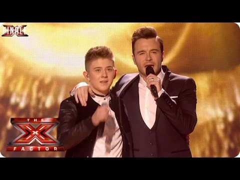 Nicholas Mcdonald Sings Flying Without Wings With Shane Filan - Live Week 10 - The X Factor 2013 video