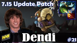 Dendi - Tinker MID | 7.15 Update Patch | Dota 2 Pro MMR Gameplay #21