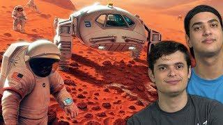 COMO A NASA CHEGOU EM MARTE??