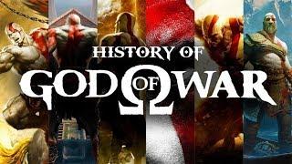 History Of God Of War 2005 - 2019