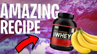 Optimum Nutrition Chocolate Peanut Butter Whey Protein + Banana (EASY) 2020 Pre-Workout