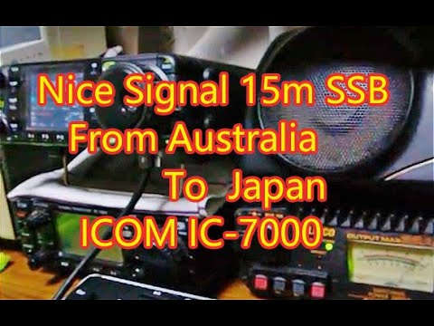 Nice Signal from Austria IC-7000 JAPAN