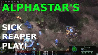 AlphaStar's SICK REAPER PLAY!