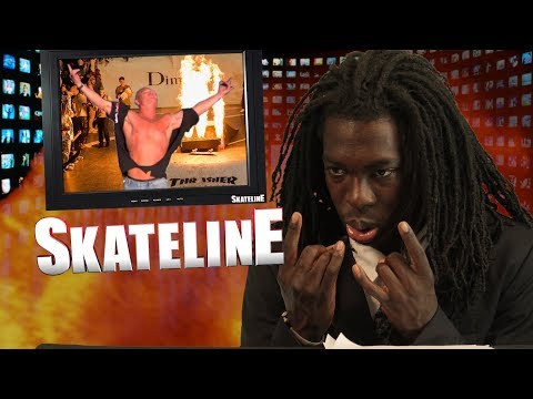 SKATELINE - T Funk & Bam Margera Pro, Riley Hawk, Heath Kirchart, Dime Glory 7 more