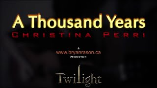 Christina Perri A Thousand Years Bryan Rason Acoustic Guitar