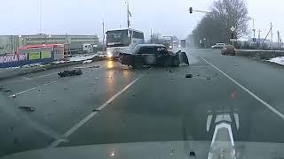 Аварии на дорогах, дтп, приколы на дороге, 2018