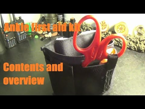 Ankle first aid kit (AFAK) overview