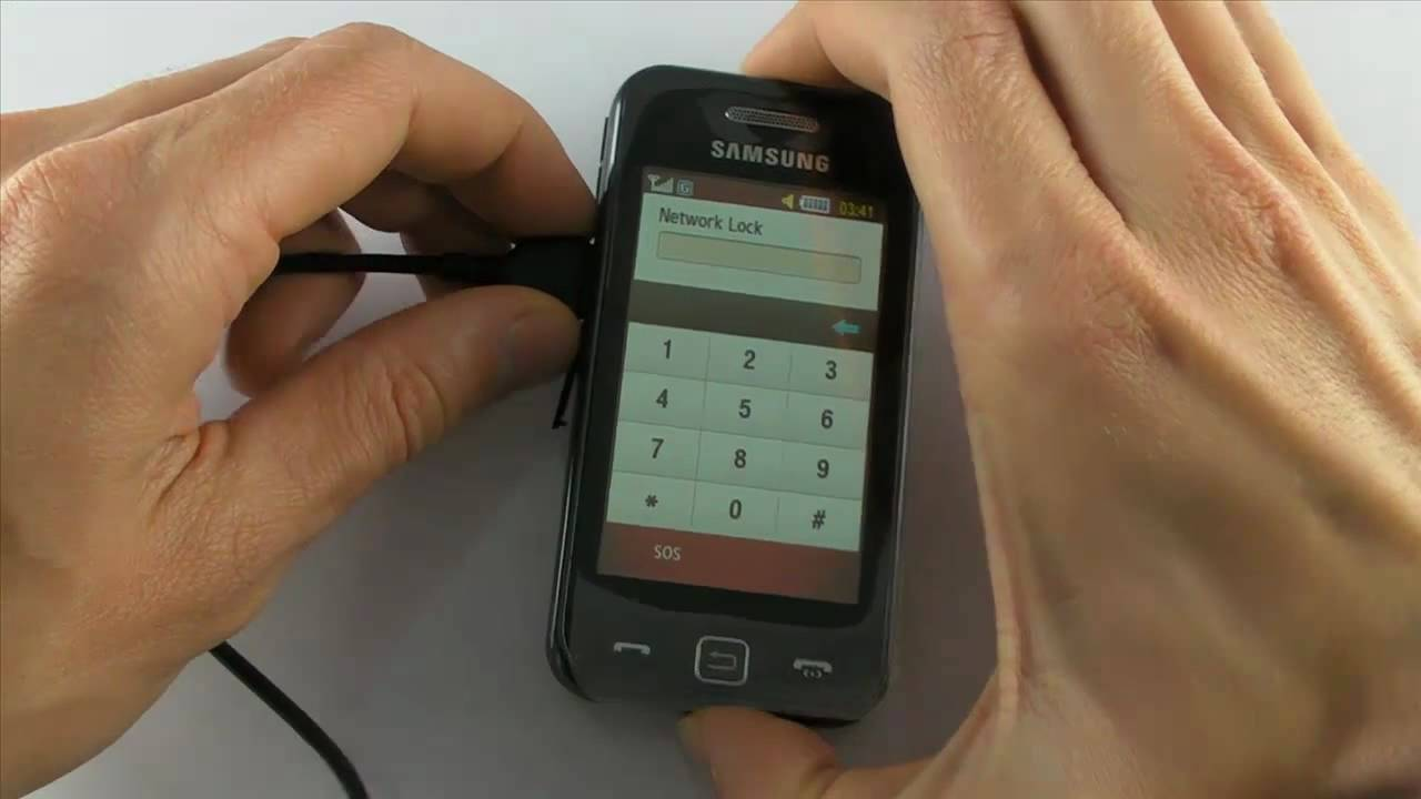 How to master reset samsung s5230