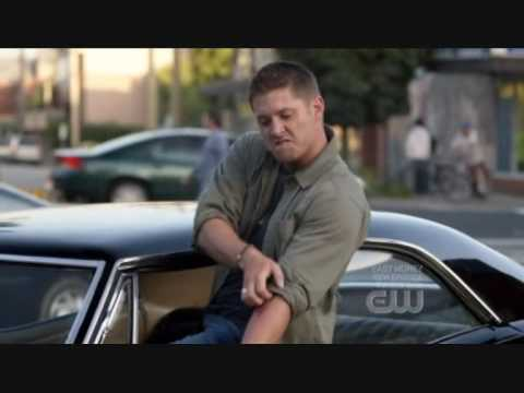 supernatural dean singing eye of the tiger youtube