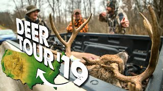 WHICH STATES ARE WE HUNTING?! - Deer Tour 2019