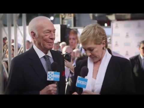Christopher Plummer and Julie Andrews At The TCM Film Festival